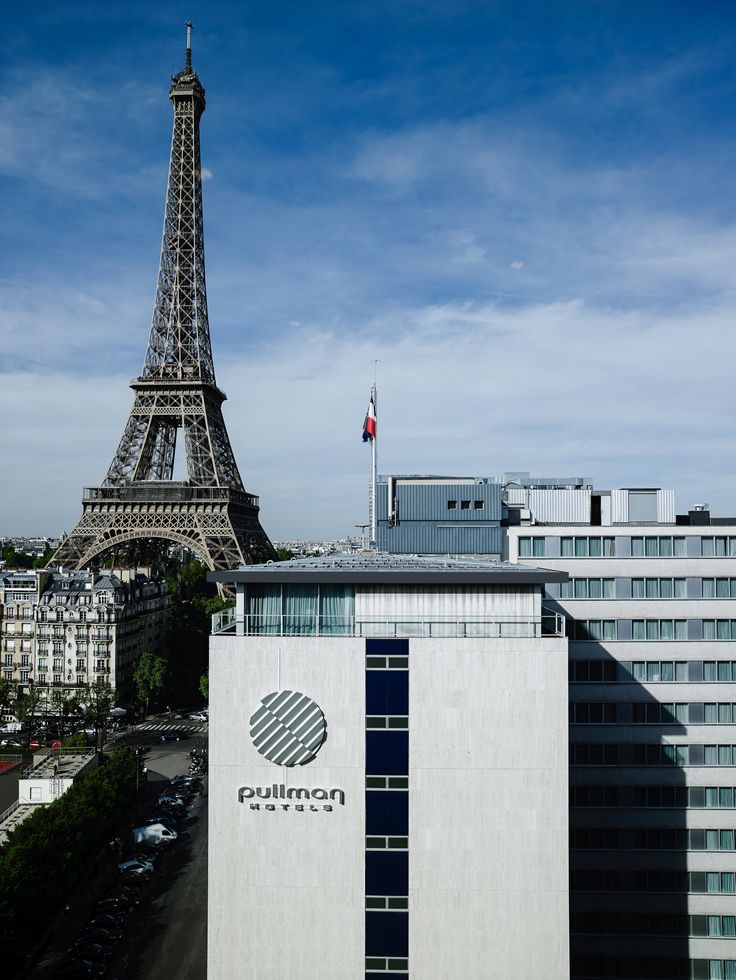 Pullman Paris and the #EiffelTower