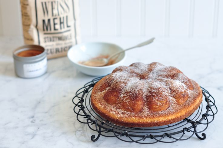 A simple but delicious recipe for cinnamon tea cake, perfect for afternoon tea.