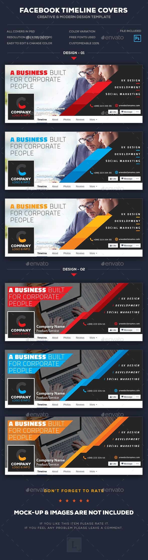17 best images about social media templates designs on pinterest corporate facebook cover maxwellsz