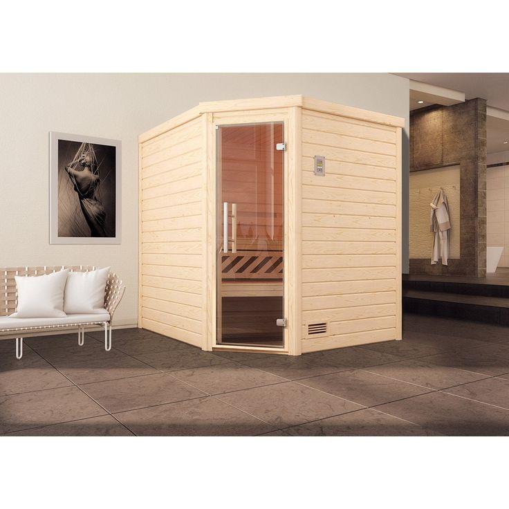 Sauna Traditionnel Dintérieur 2 Ou 3 Personnes Weka Turku