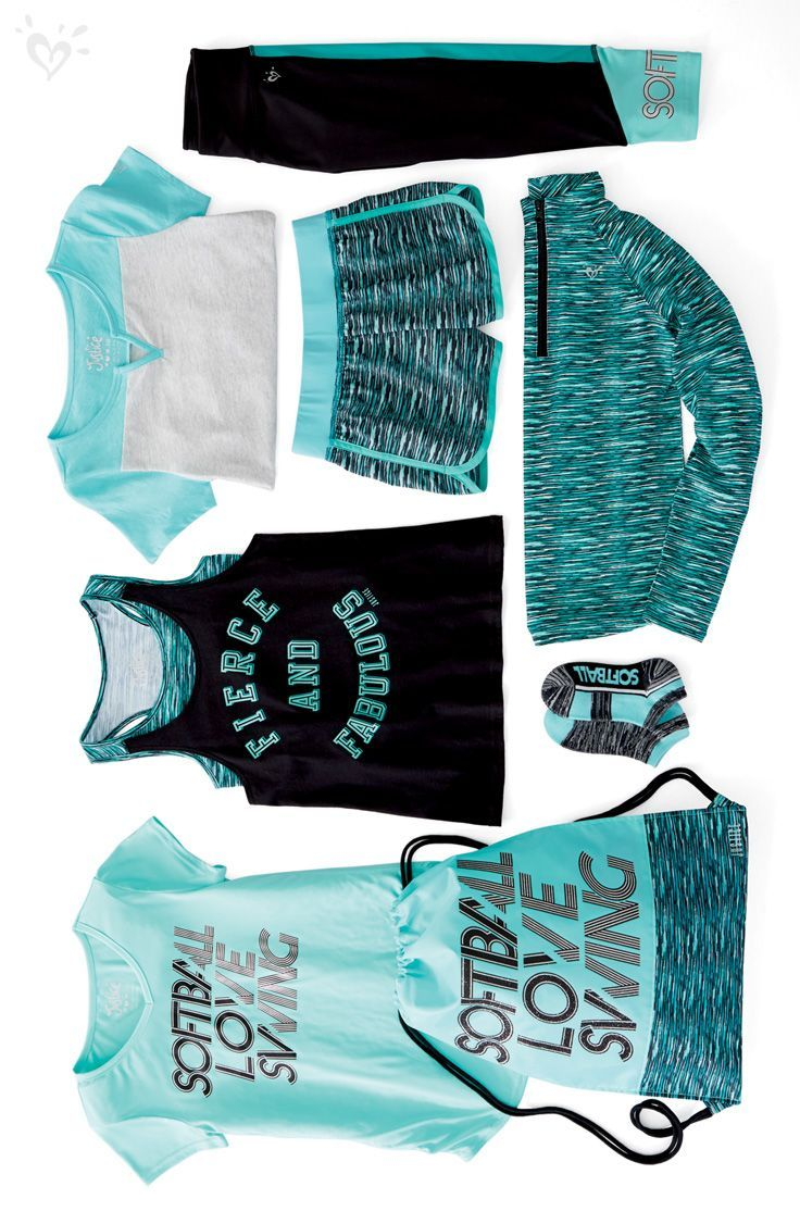 An all-star lineup of made to match activewear!