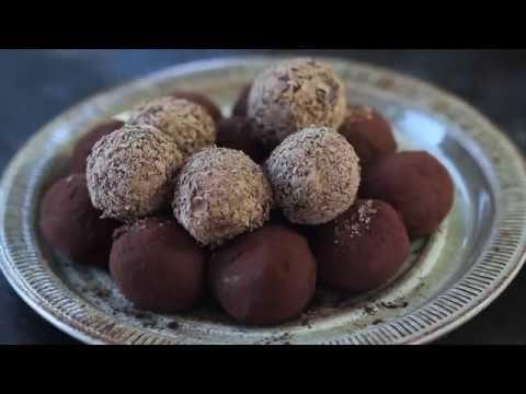Trufe cu ciocolata si caramel (reteta video)