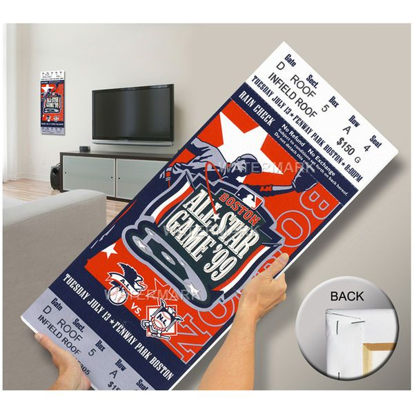 1999 MLB All-Star Game Mega Ticket, Red Sox Host - MVP Pedro Martinez, Red Sox - $79.99