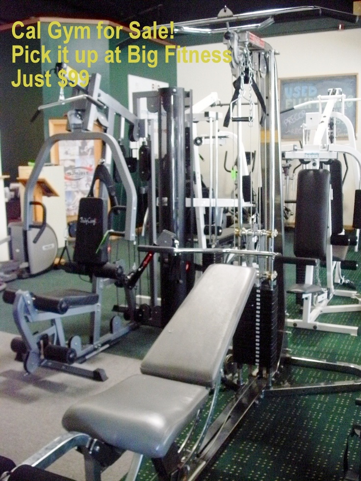 Cal Gym Apollo just 99! Pick it up at Big Fitness