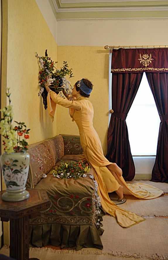 """1883, """"Vase place girl"""" - Osman Hamdi Bey"""