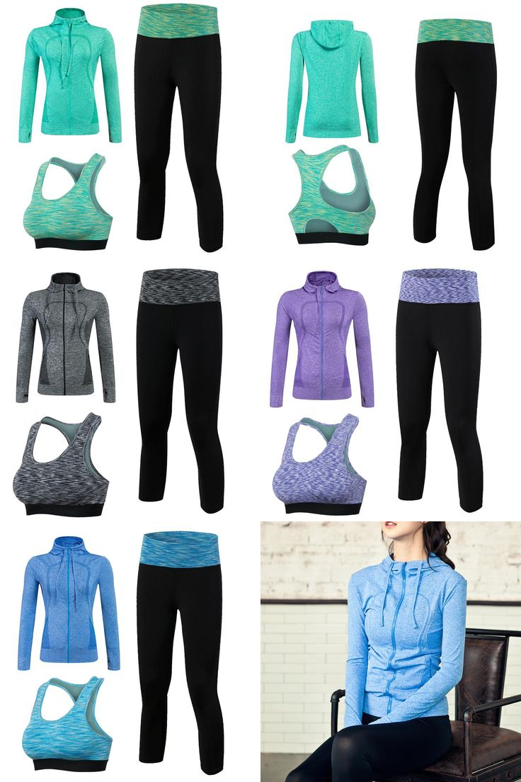[Visit to Buy] New Arrival YEL Quick Dry Workout Sport Suit Women 3pcs Yoga Sets(Jacket+Pant+Bra)Jogging Suits Fitness Gym Tracksuit Clothing  #Advertisement
