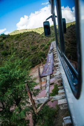 "Voyage en ""train"" de #Sucre à #Potosi en #Bolivie"