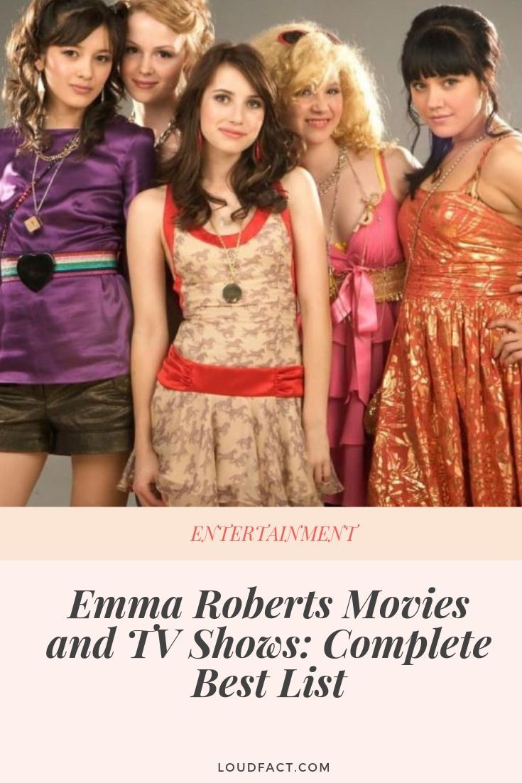 Emma Roberts Movies And Tv Shows Complete Best List Robert Movie Emma Roberts Movies And Tv Shows
