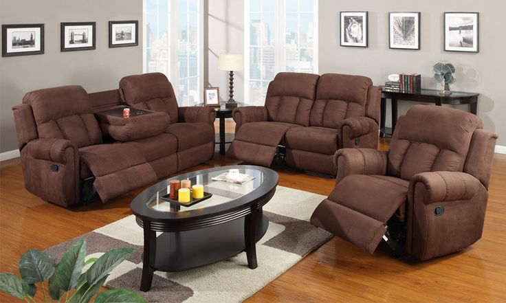 Details About Modern Rocker Recliner Sofa Cup Holder Couch