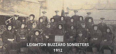 Leighton Buzzard Salvation Army - Songsters 1912