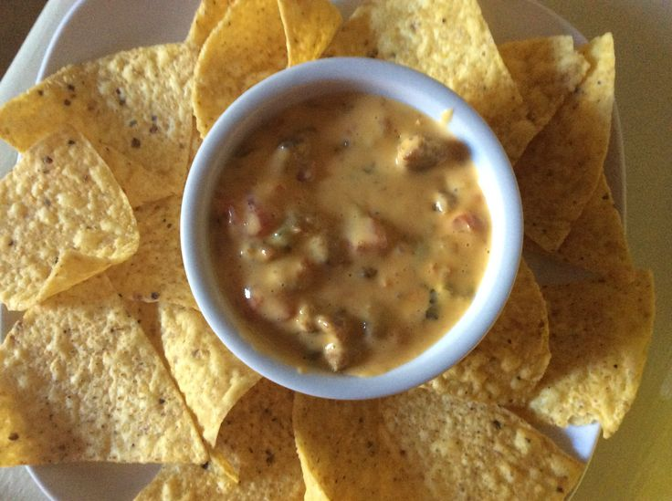 Velveeta Cheese Dip-Done Our Way
