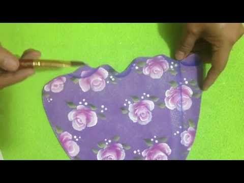 Como hacer vestidos en Foami - YouTube