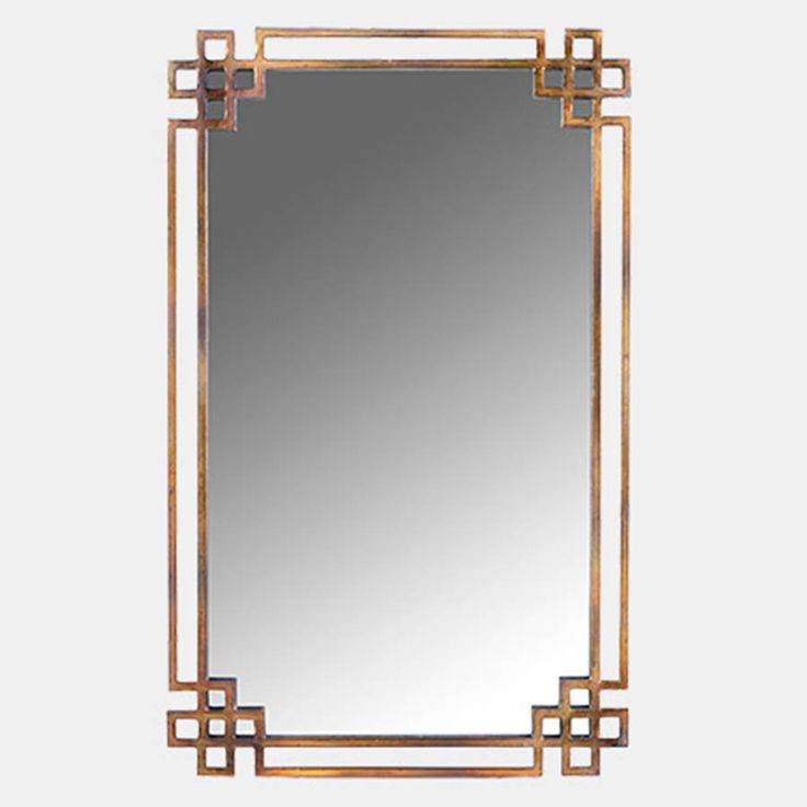 Shanghai mirror by wesley barrell for Asian style mirror