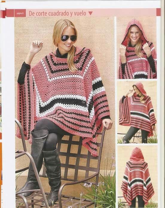 10 Crochet Ponchos