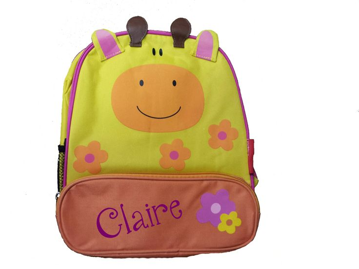 Personalized Cow Toddler Backpack. Personalized with Your Child's Name Toddler Backpack 3 by 5MonkeysDesigns on Etsy
