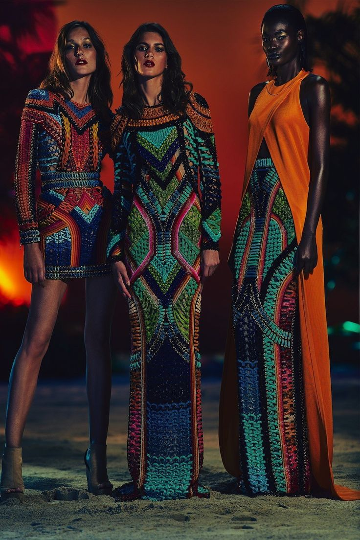 Balmain fashion collection 2017