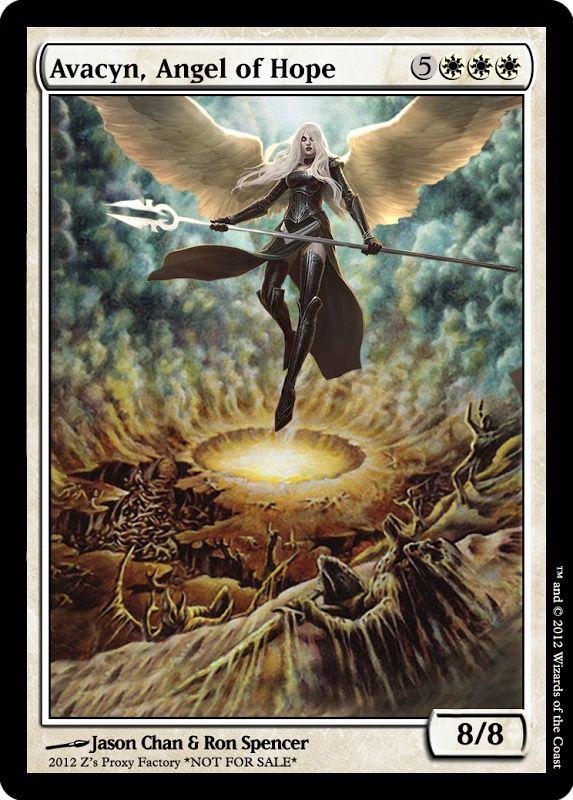 awacyn, angel of hope | Avacyn, Angel of Hope, zeerbe, proxy, digital render. Z's Proxy ...