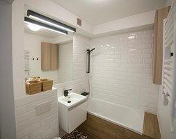 #FRN2 - Mała łazienka w bloku bez okna - zdjęcie od Och-Ach_Concept