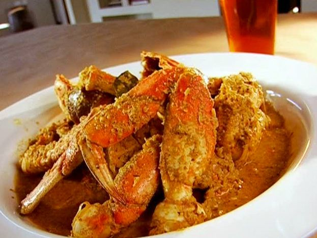 Curried Crab with Coconut and Chili from FoodNetwork.com: Food Network, Crabs Recipes, Chilis Recipes, Easy To Follow Curries, Foodnetwork Com, Curtis Stones, Chili Recipes, Curries Crabs, Food Drinks