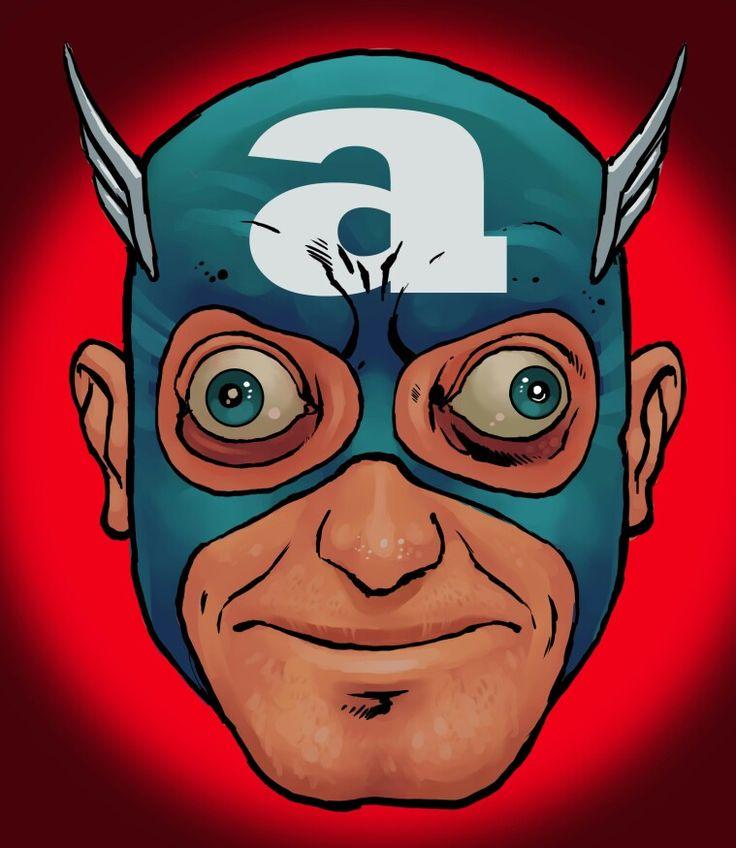 Captain America / Marty Feldman