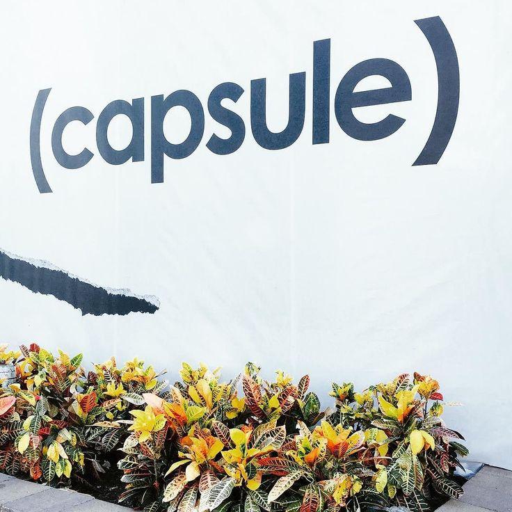 See us at (capsule) sept 17-19! @capsuleshow