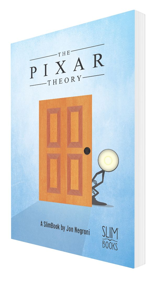 """""""The Pixar Theory."""" Available in paperback for online delivery and in most e-book stores."""