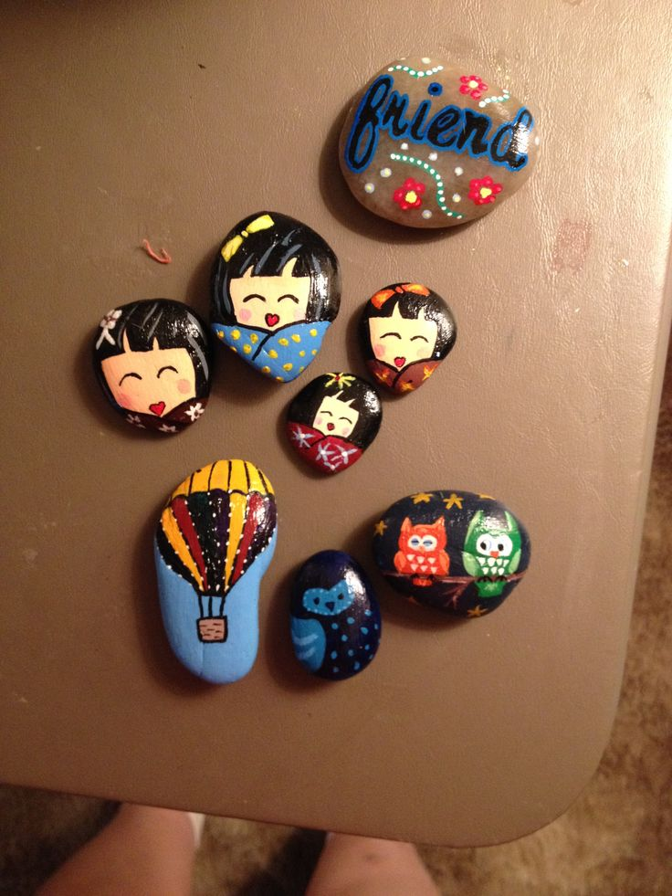 Painted Rocks Crafts I Ve Done Pinterest Painted
