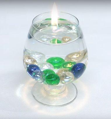 Homemade easy water candle - gorgeous home decor // Vízgyertya készítése házilag egyszerűen - hangulatos dekoráció // Mindy - craft tutorial collection