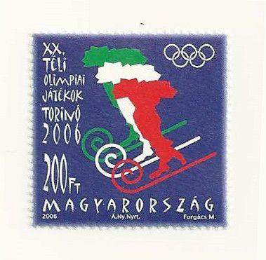 #3959 Hungary - 2006 Winter Olympics, Turin (MNH)
