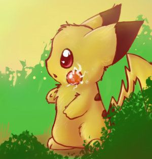 I know Pikachu isn't a real animal, but I think he is, 'cause Imma nerd :D