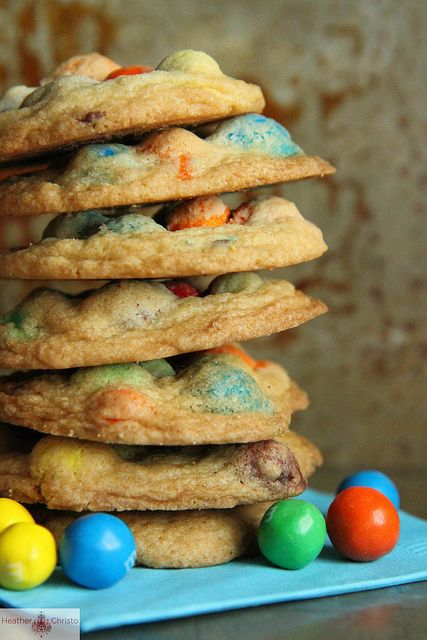 Beer, Chocolate, Peanut and Pretzel Cookies by Heather Christo
