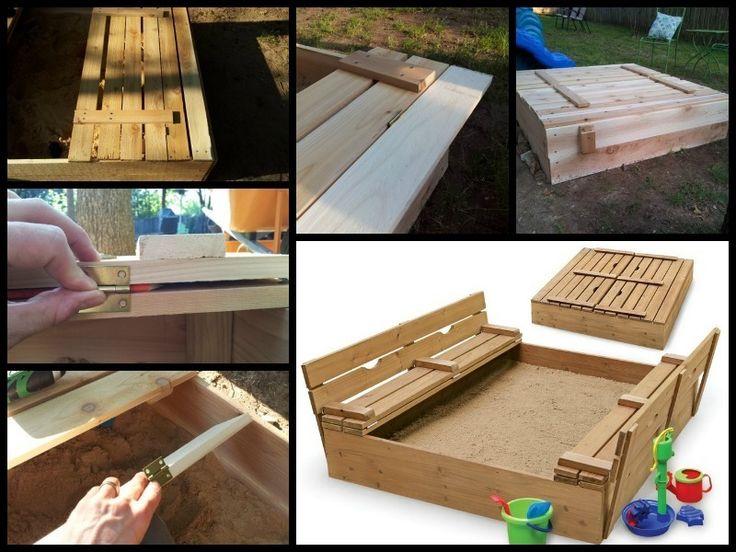best 25 sandkasten bauen ideas on pinterest. Black Bedroom Furniture Sets. Home Design Ideas