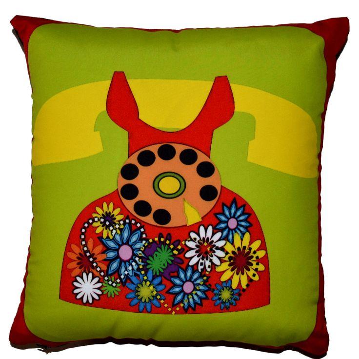 Designerska #poduszka dekoracyjna #Retro № gd309