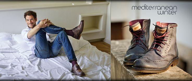 Colección Otoño-Invierno de zapatos y botas Pikolinos para el hombre