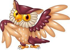 Cute Talking Owl