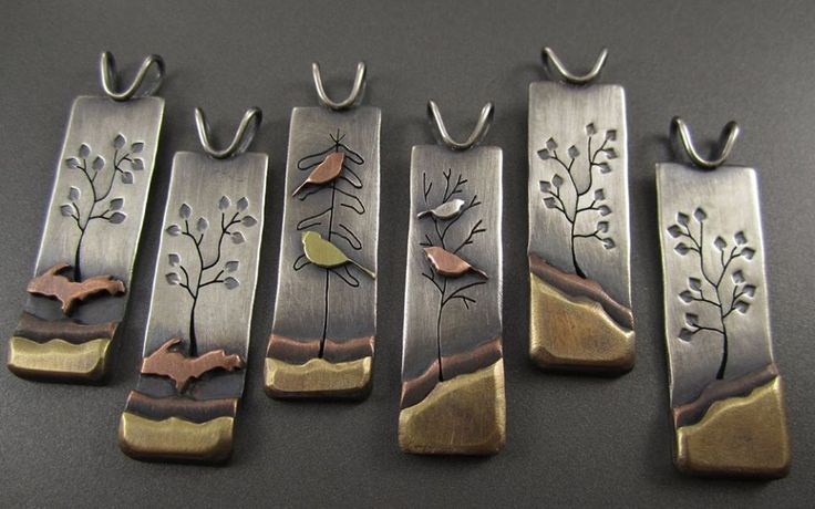 Artisan/Designer:  Beth Millner on Facebook. IDEA:  Try etching the landscape and the trees, etc.