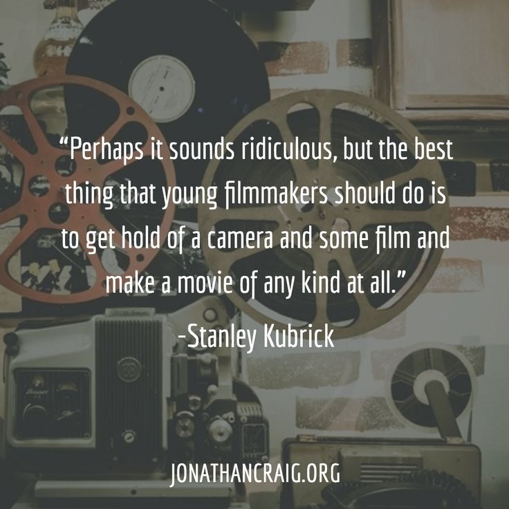 101 Best Movie Quotes: Best 25+ Filmmaking Quotes Ideas On Pinterest