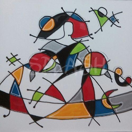 Menina moderna homenaje a Miró-3 SP633