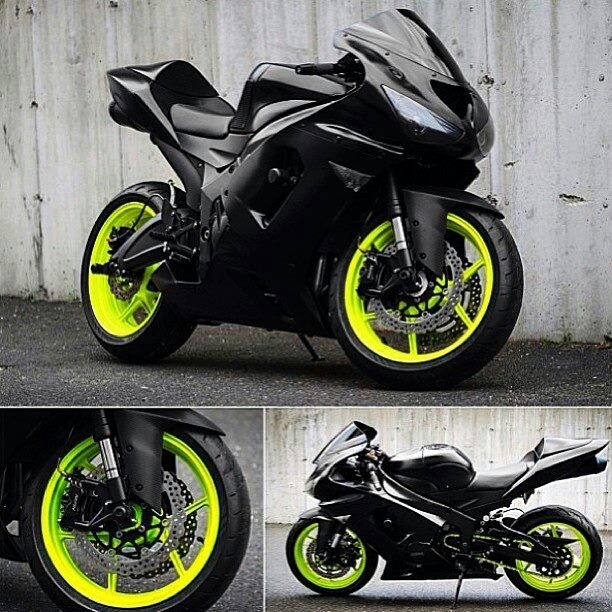 Zx6r I would have blue rims though