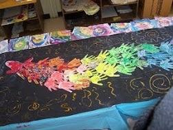 maalatuista käsistä kootaan lohikäärme vuoden aluksi