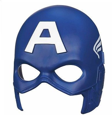 Boys kids #fancy dress captain america #avenger face mask #costume cosplay hero f, View more on the LINK: http://www.zeppy.io/product/gb/2/252344839810/