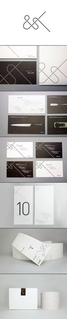 Branding & Identity for &S co,  typography / graphic design: SAFARI inc.  