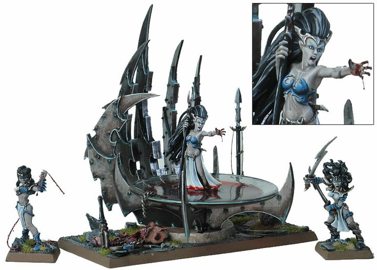 """""""Hand of Khaine"""" - converted and painted by Paul Oudin"""