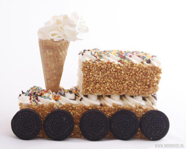 In 5 minuten van zelfgekocht naar zelfgemaakt - Moodkids #taart #cake #birthday…