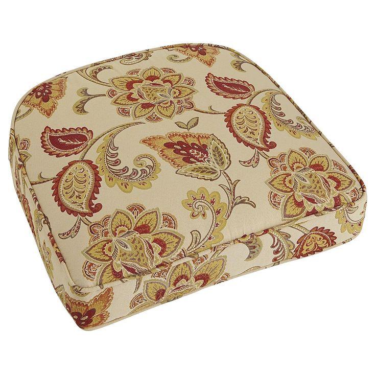 Inner Spring Cushion Jacobean Ochre Beach Cushions
