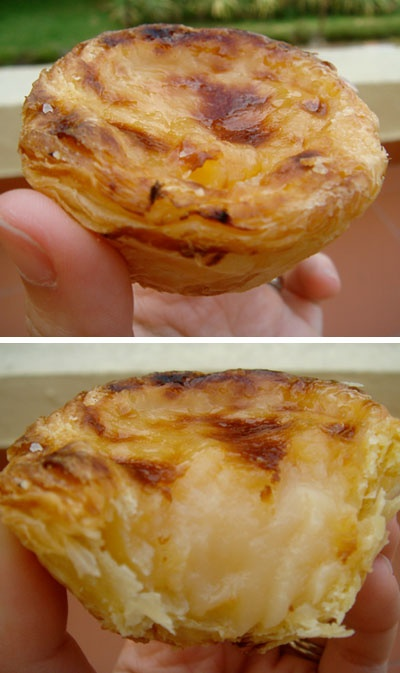 """My favorite desert """" Pasteis de Belem"""" you can only buy it in Portugal"""