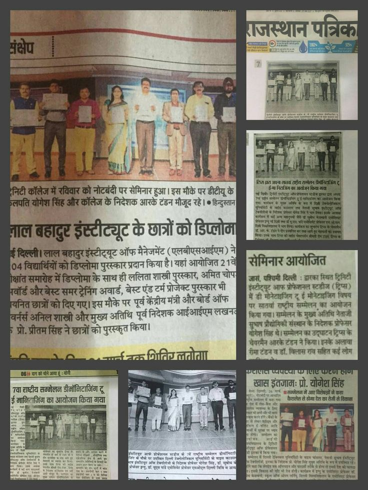 TIPS, Dwarka in NEWS!! Trinity Institute of Professional Studies successfully organised the National Conference on Demonitisation to e- Monetization on 25th March 2017. The conference was widely covered in different news papers.