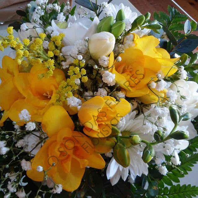 Ó son das flores: Arreglos primaverales para llenar de color cualqui...