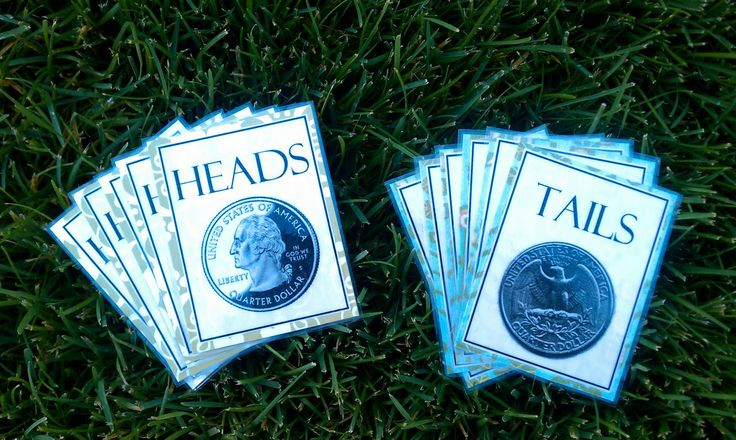 Heads or Tails Game: Have the children flip a coin to choose the song for heads or a challenge for them to do for tails.