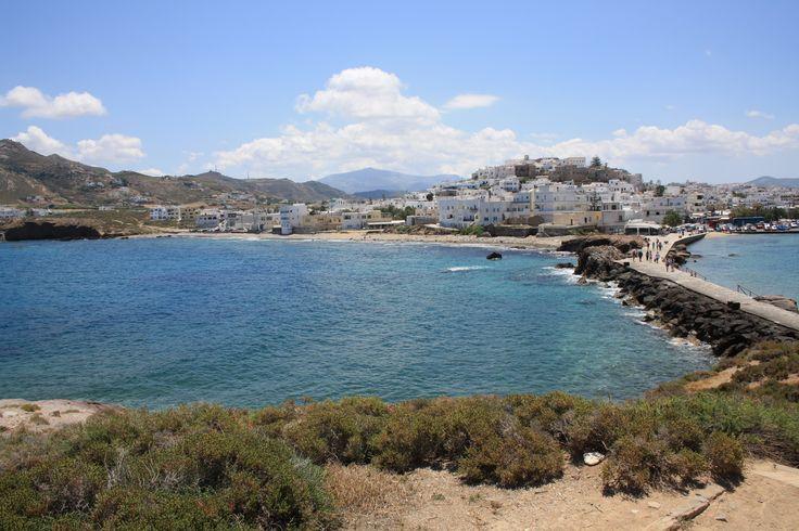 Haven Naxos stad